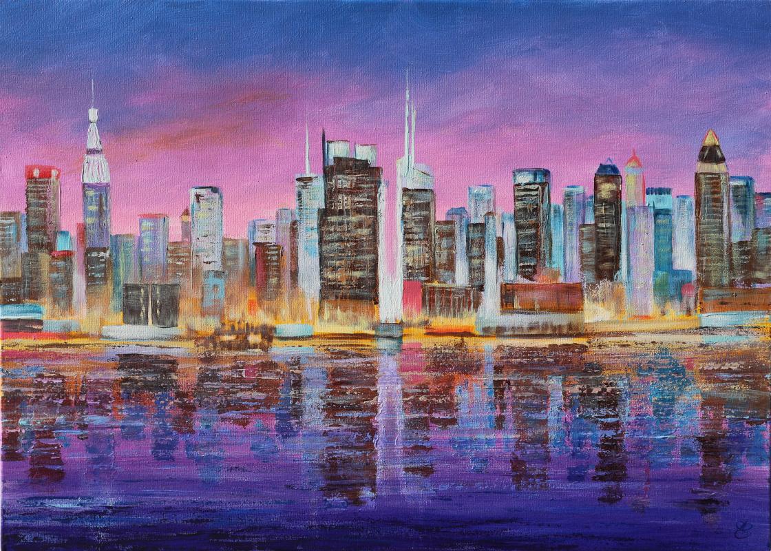 Dmitry Eremenko. Manhattan night