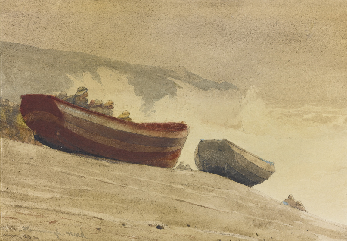 Winslow Homer. Storm on the English coast