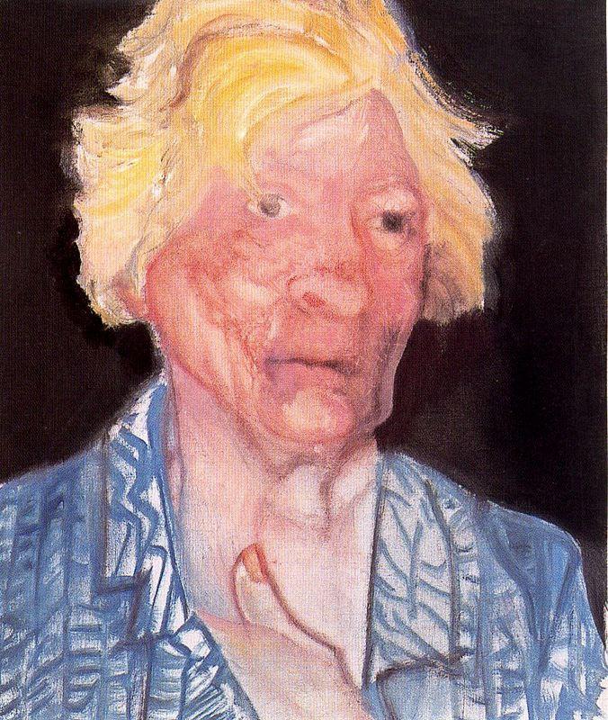 Марлен Дюма. Мужской портрет