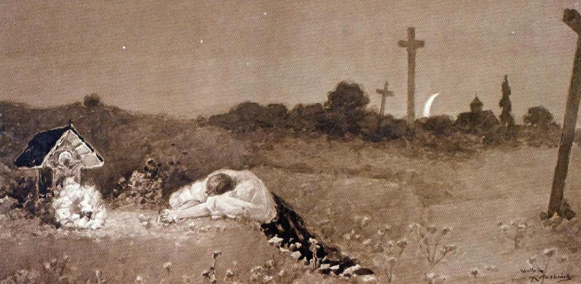 Wilhelm Kotarbinsky. At the grave