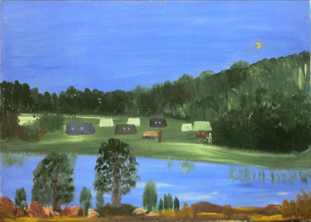Love Mikhailovna Maikova. Yenisei River