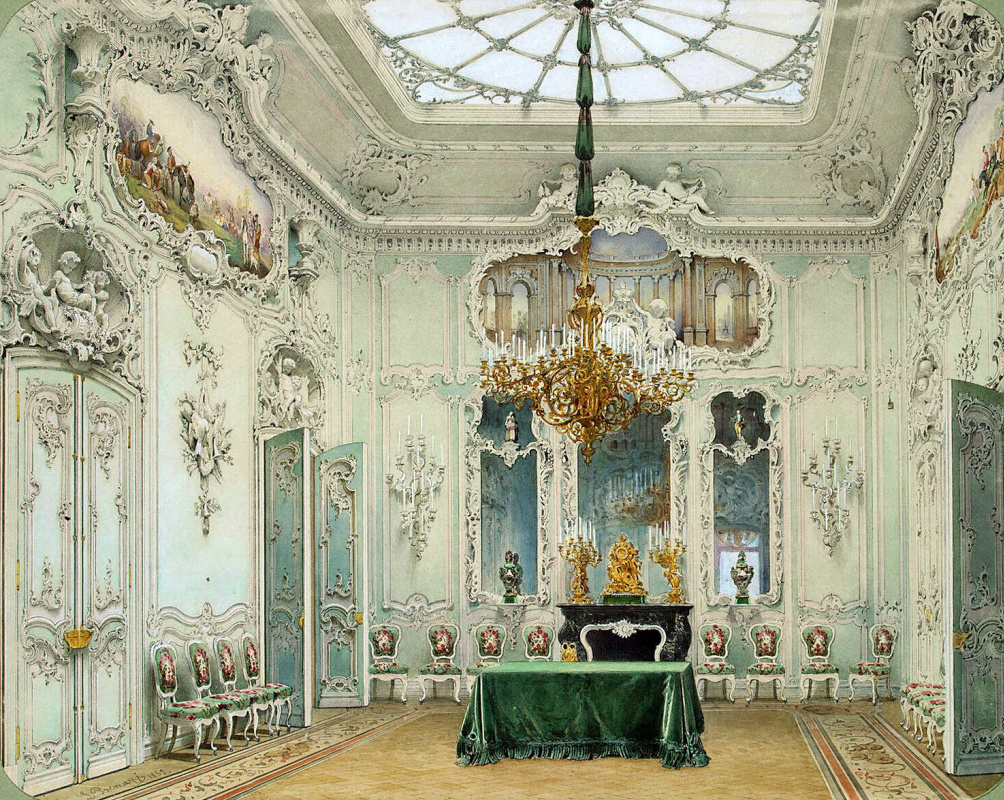 Types of rooms of the Winter Palace by Luigi Premazzi: History