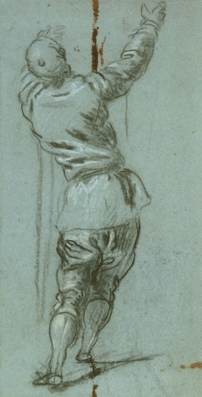 Jacopo (Robusti) Tintoretto. A man from behind