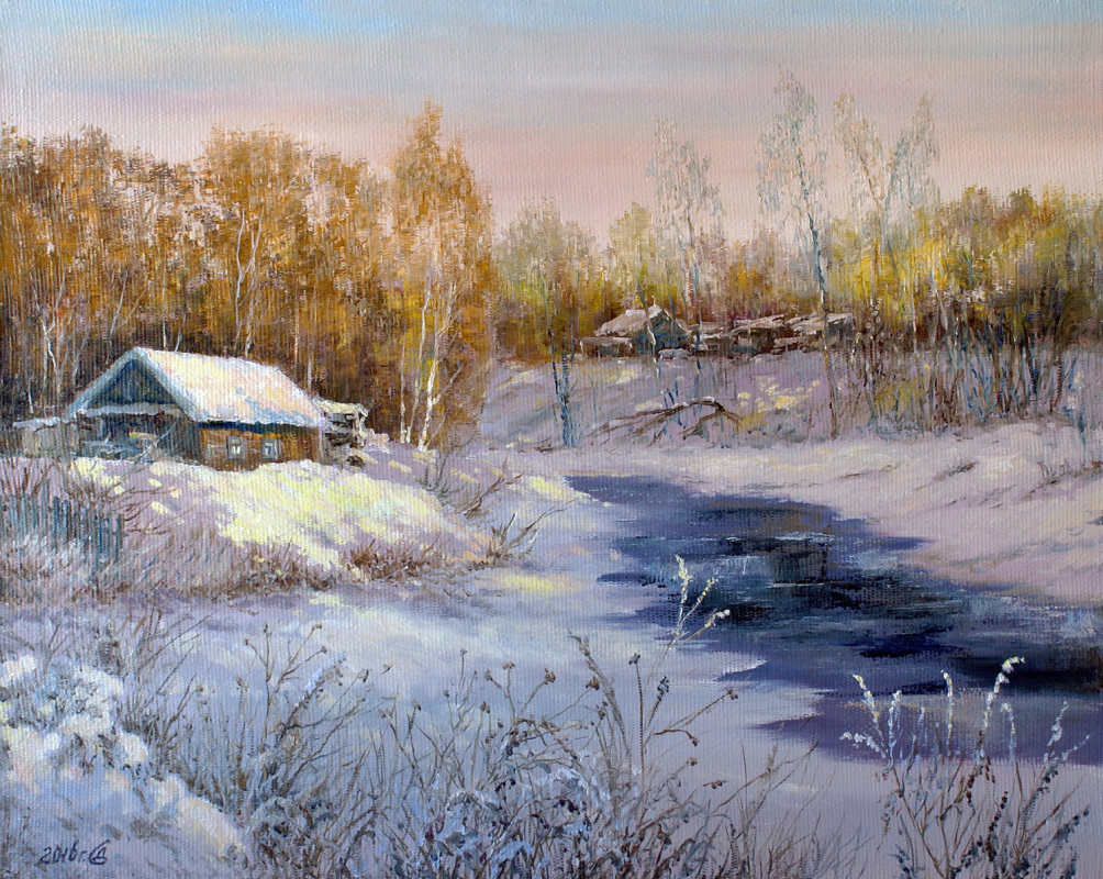 Сергей Владимирович Дорофеев. And winter came in the morning ...