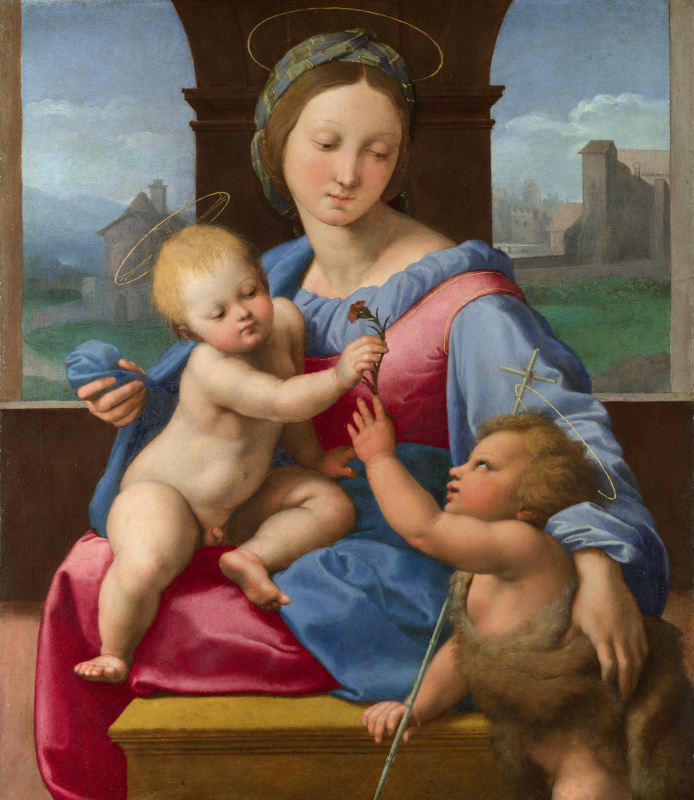Raphael Sanzio. Aldobrandini Madonna (Madonna Lord Garvagh)