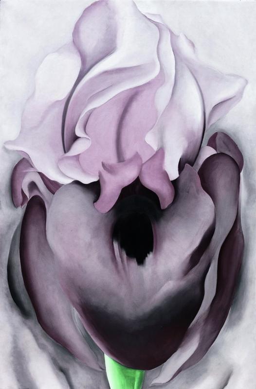 Джорджия О'Киф. Черный ирис VI