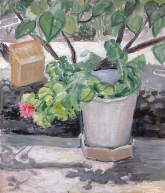 Vladimir Petrovich Chernov. Little flower