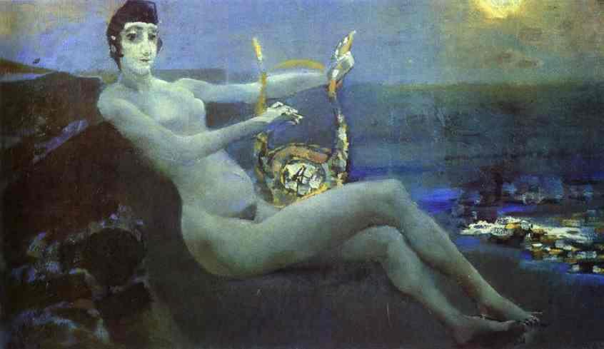 Mikhail Vrubel. Sappho