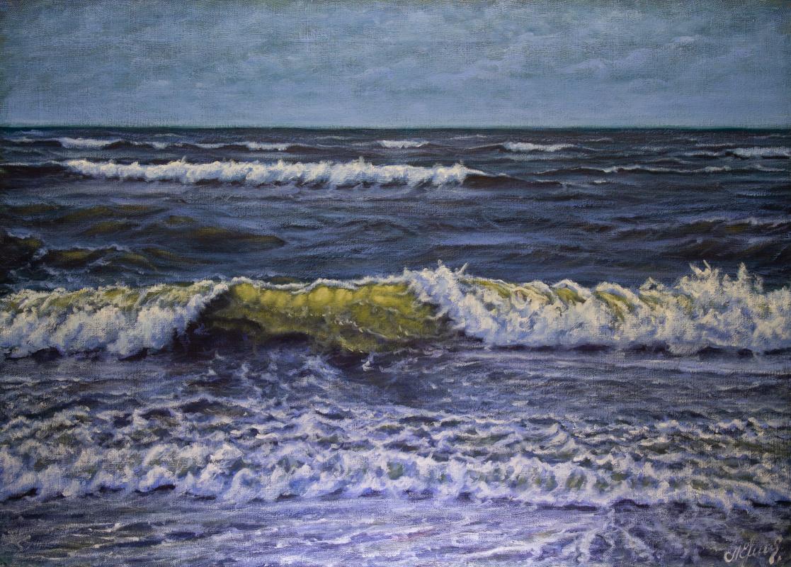 Valery Levchenko. № 604  Морской пейзаж.