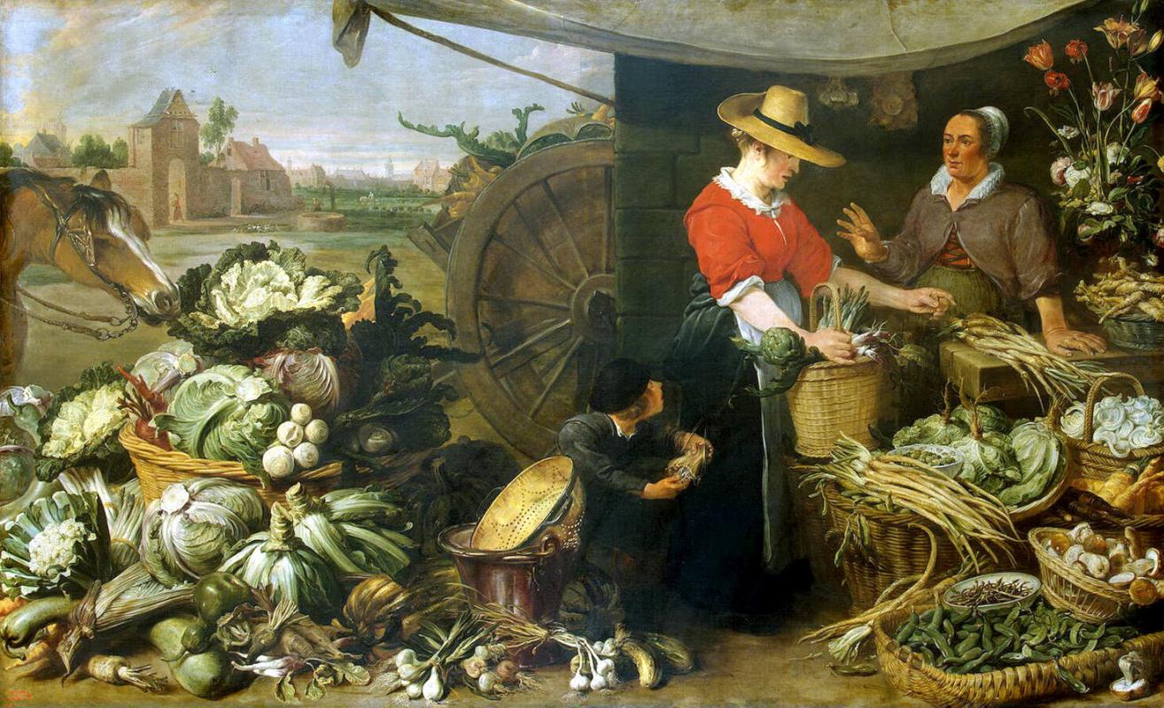 Франс Снейдерс. Овощная лавка