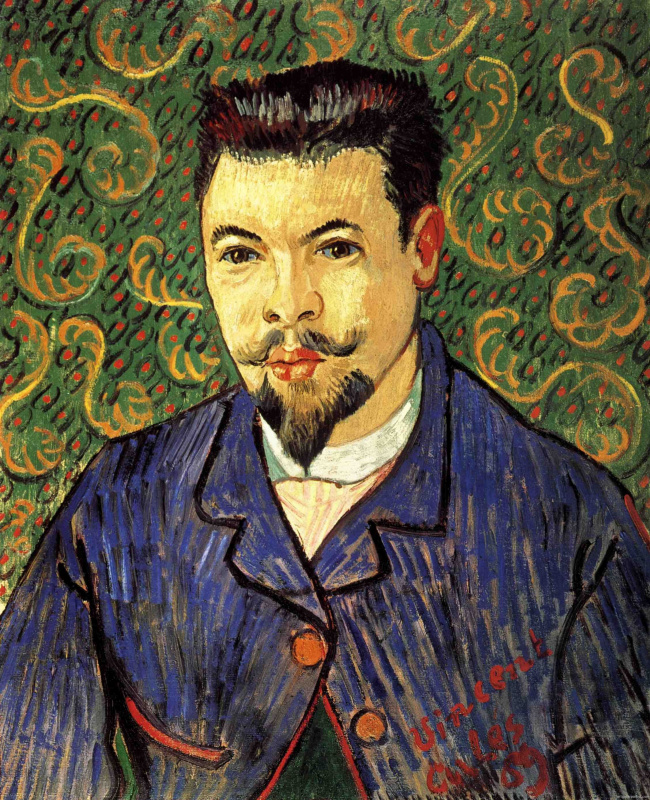 Vincent van Gogh. Portrait of Doctor Felix Rey