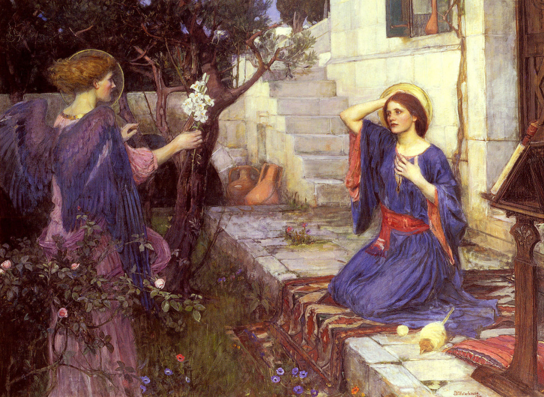 John William Waterhouse. The Annunciation