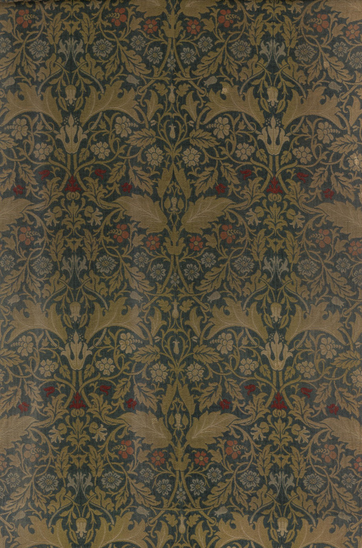 William Morris. Champion. Design for decoration of furniture
