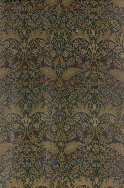 William Morris. Champion. Design for decoration of furniture
