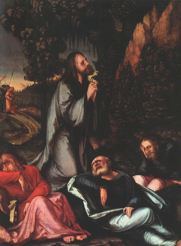 Счаеуф. Молитва в саду