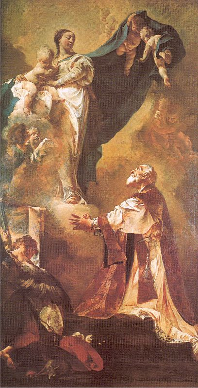 Явление Мадонны Святому Филиппо Нери