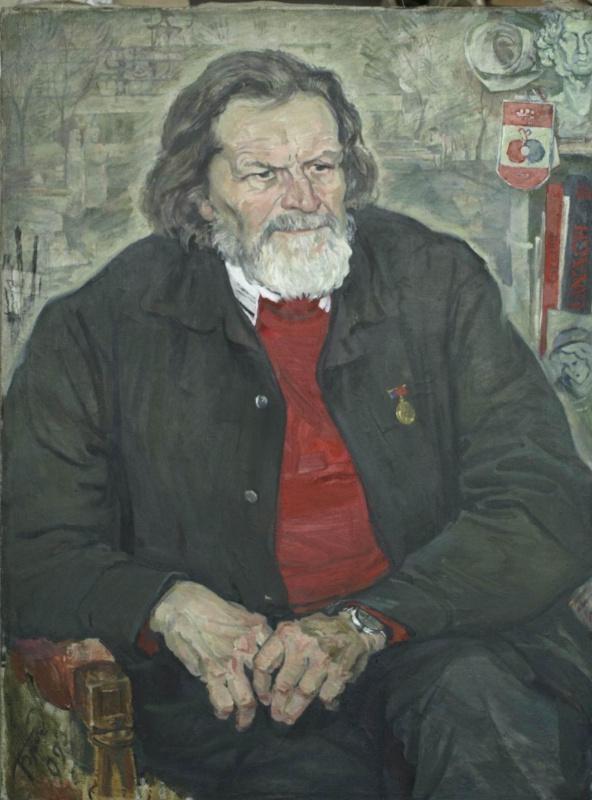 Евгений Иванович Бригадиров. Портрет архитектора Изоитко