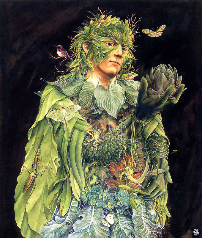 Кэтлин Оконнелл. Зеленый мужчина