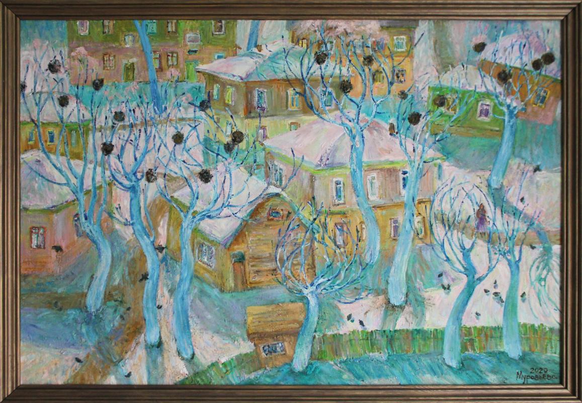 Natalia Sergeevna Muravyova. Trees in ice, hl.m.