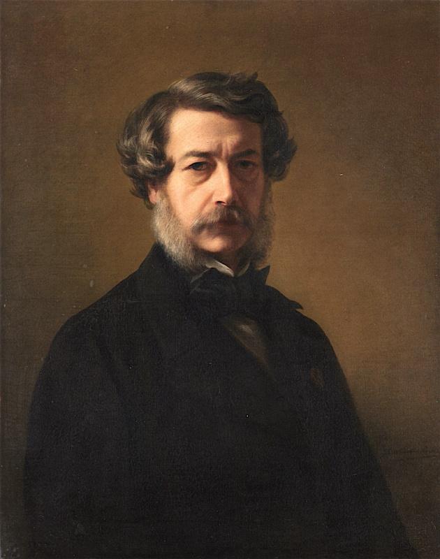 Franz Xaver Winterhalter. Self-portrait