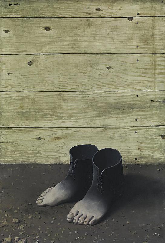 René Magritte. Le Modèle rouge