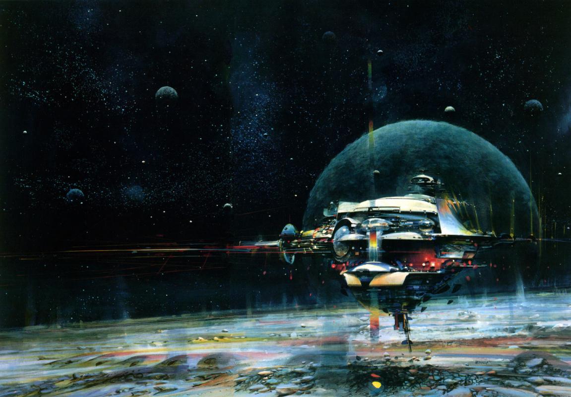 Джон Берки. Космическая почта