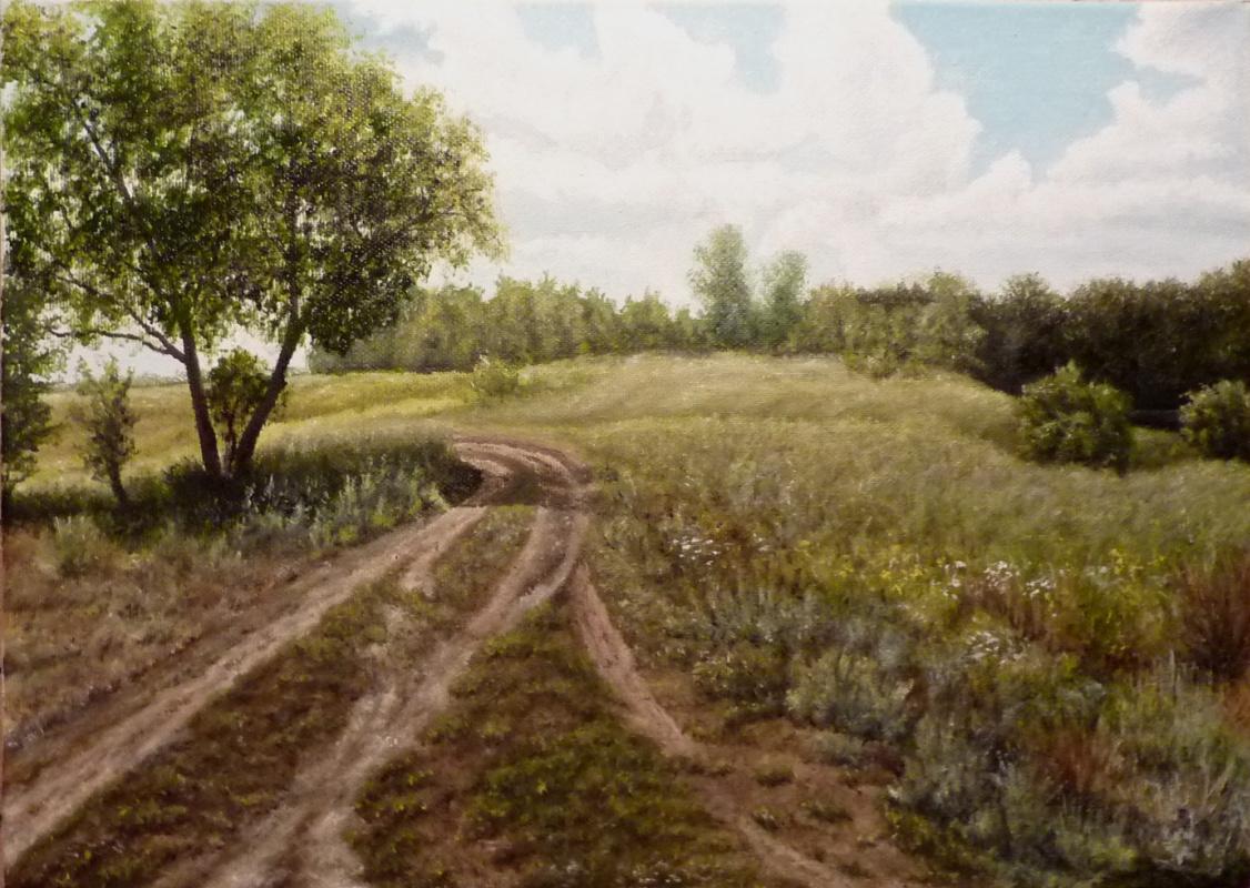 "Vitaliy Vadimovich Stroynov. ""The road to the Chagan River."""