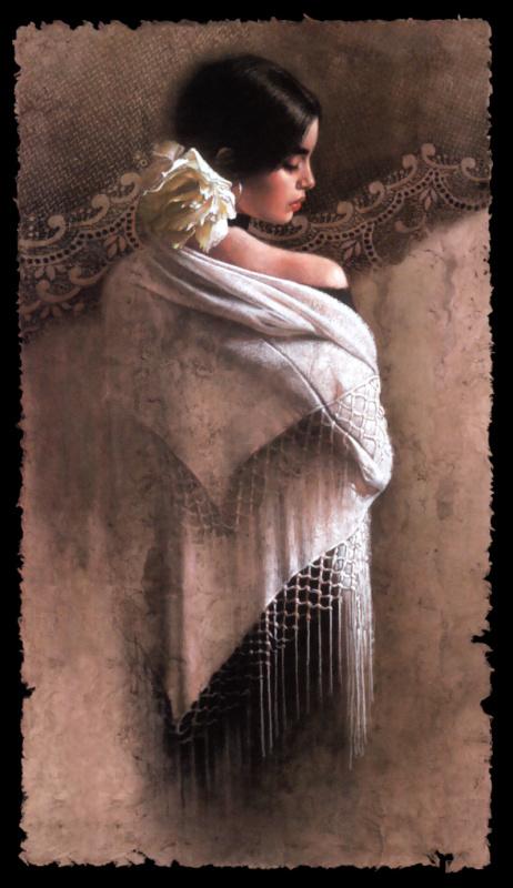 Ли Богел. Белая шаль