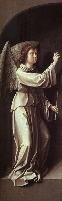 Герард Давид. Ангел Благовещения