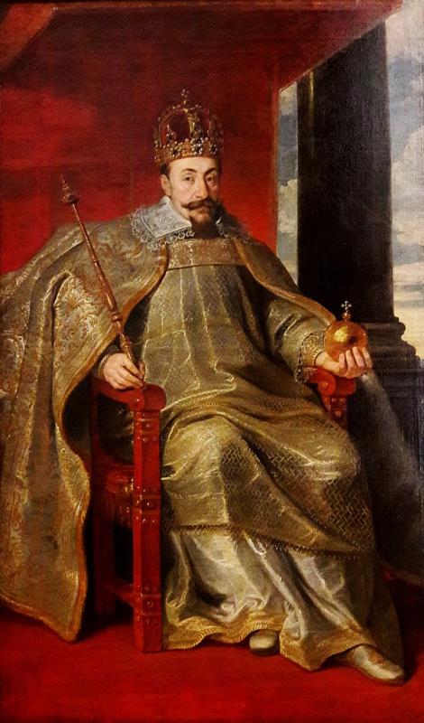 Питер Саутман. Портрет Сигизмунда III Вазы в коронационном одеянии