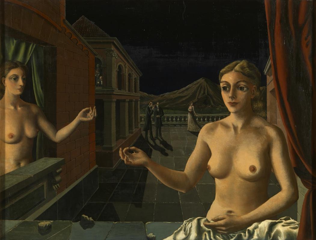 Paul Delvo. Nocturne. 1939