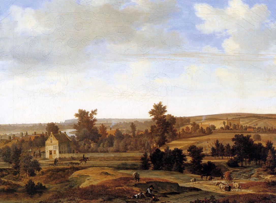 Йорис ван дер Хаген. Панорама под Арнем