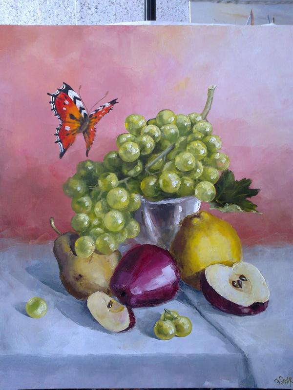 Гость у винограда