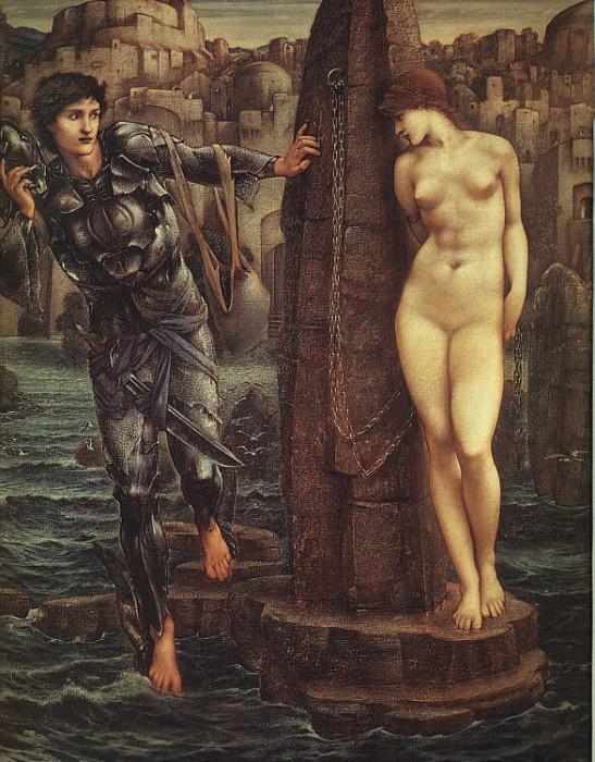 Edward Coley Burne-Jones. The Perseus Series: The Rock of Doom