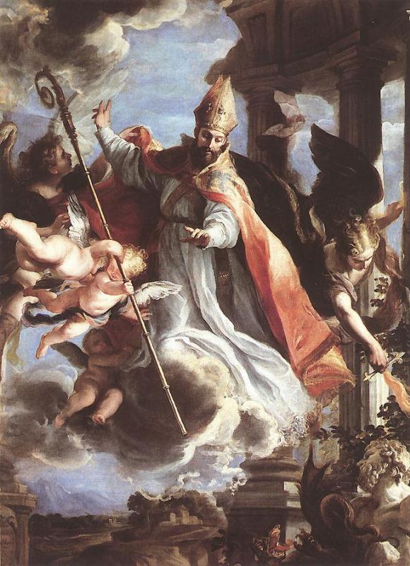 Клаудио Коэльо. Торжество Святого Августина