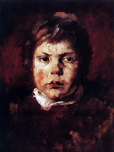 Фрэнк Дувенек. Портрет мальчика