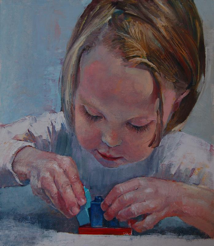 Кристина Ровная. Алиса с лего