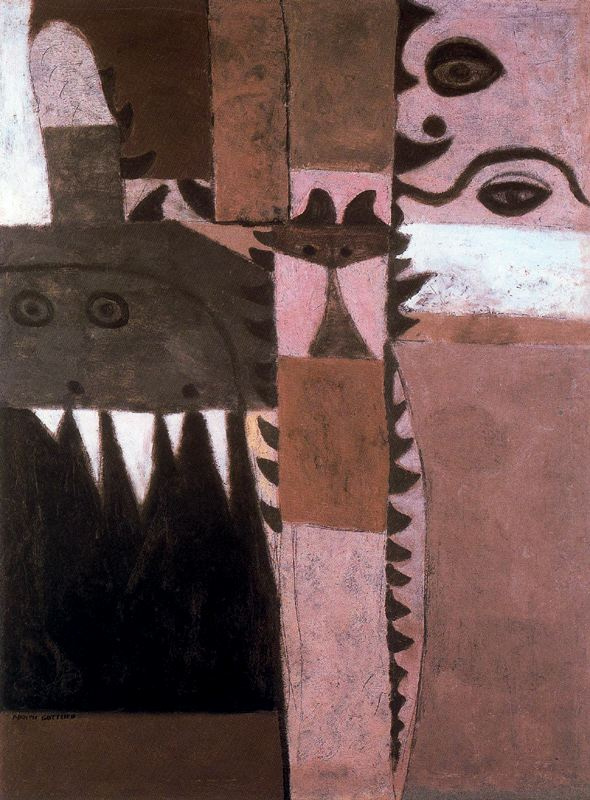 Adolf Gottlieb. Plot 5