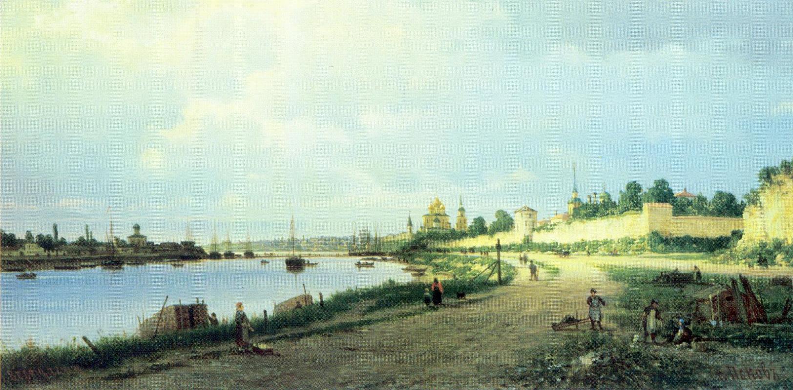 Петр Петрович Верещагин. Псков