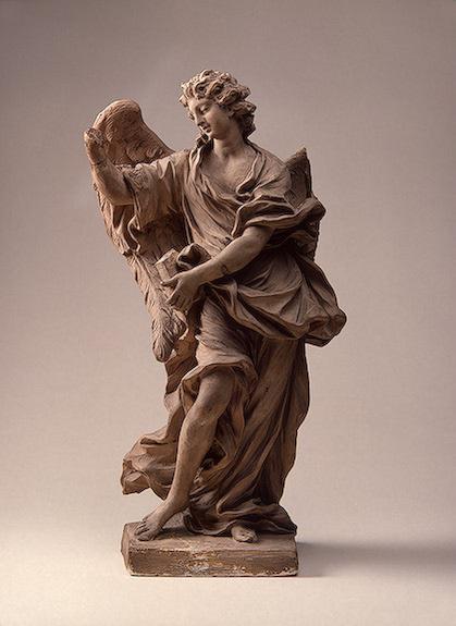 Эрколе Феррата. Ангел с крестом