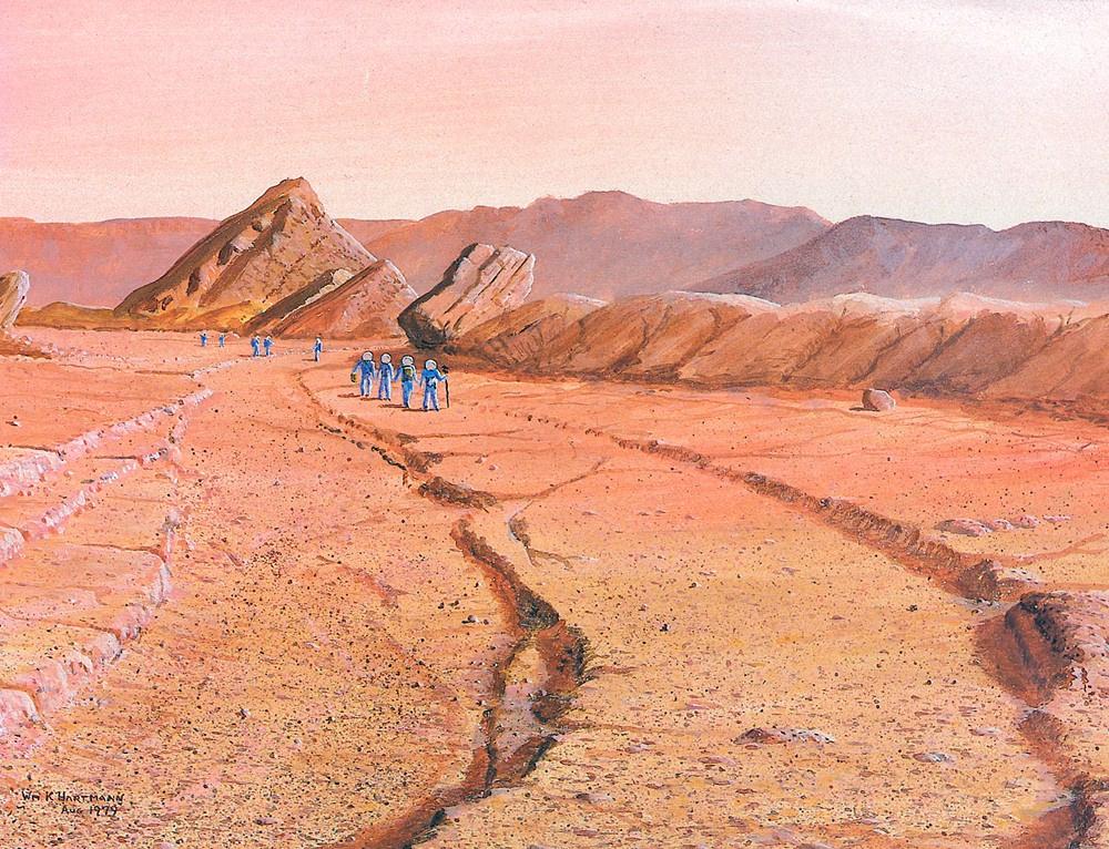 Уильям Хартманн. Марсианский канала