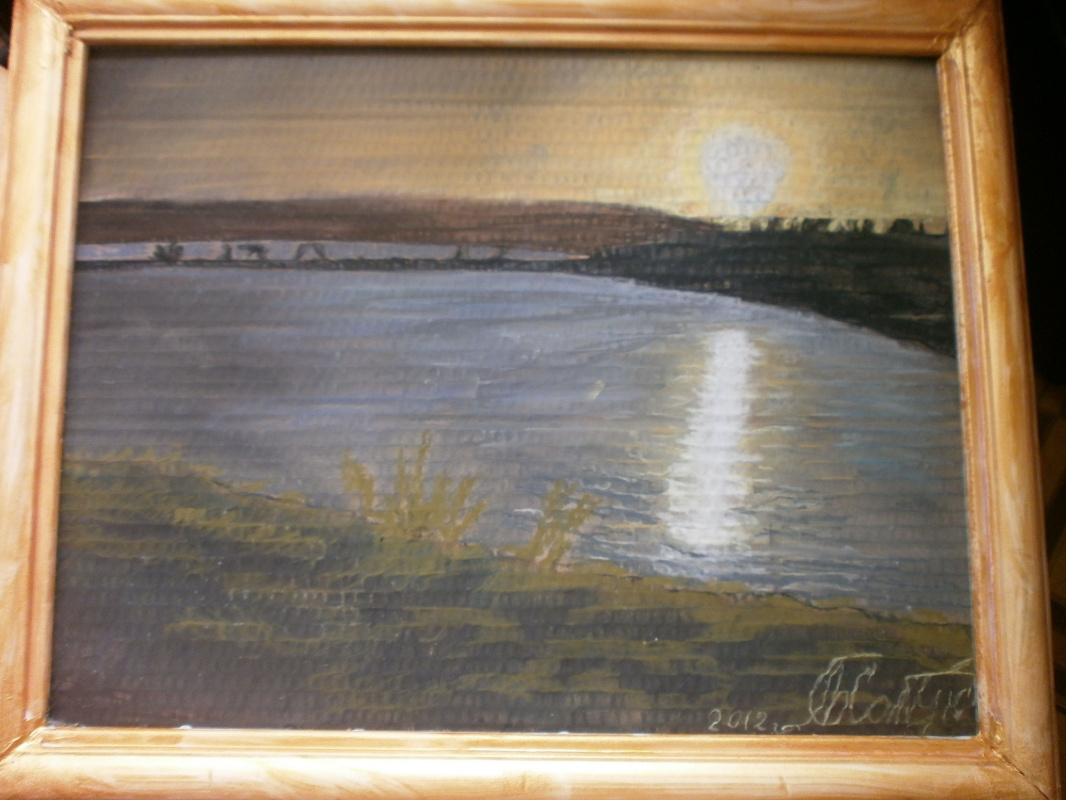 Marianna Dmitrievna Soltuk. Early early morning at the reservoir Ehowcom
