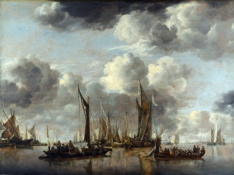 Ян ван де Каппель. Салюты с яхты