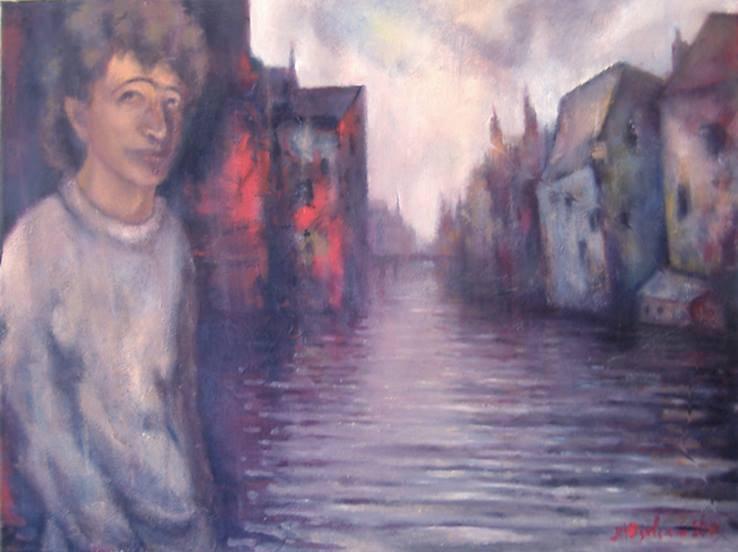 Michael Yudovsky. In Bruges