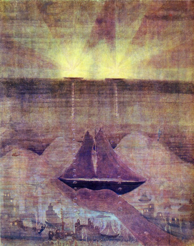 Mikalojus Konstantinas Ciurlionis. Sonata of the sea. Andante