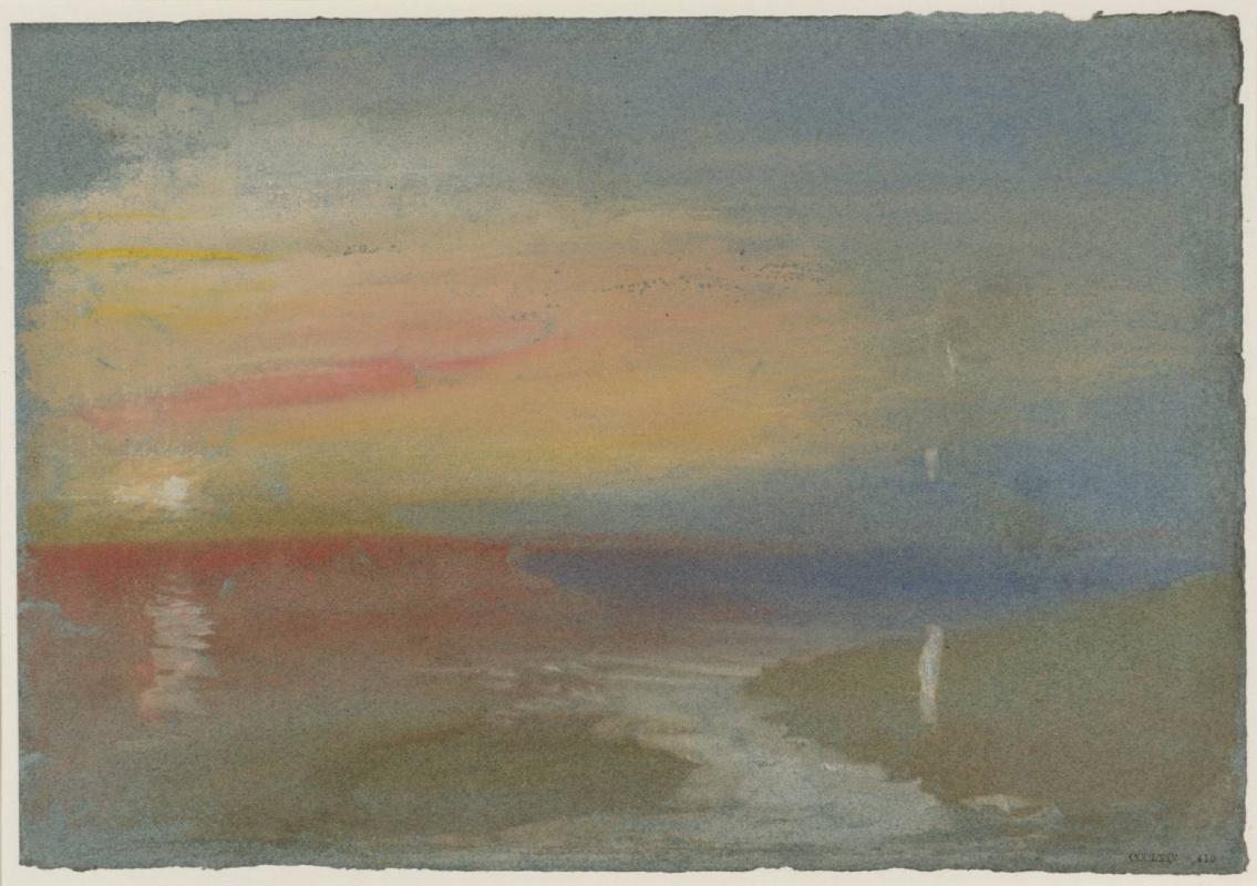 Joseph Mallord William Turner. Dawn