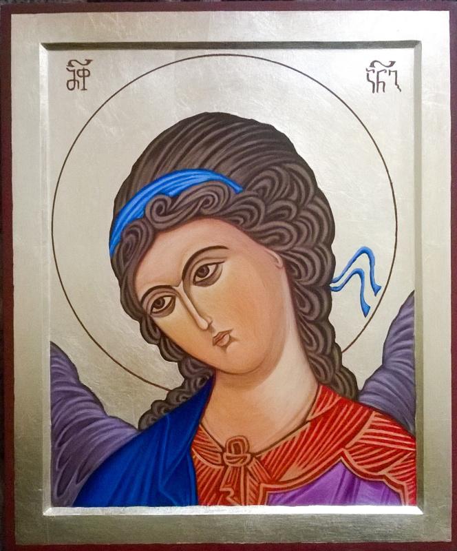 Badri bukia. Icon guardian angel