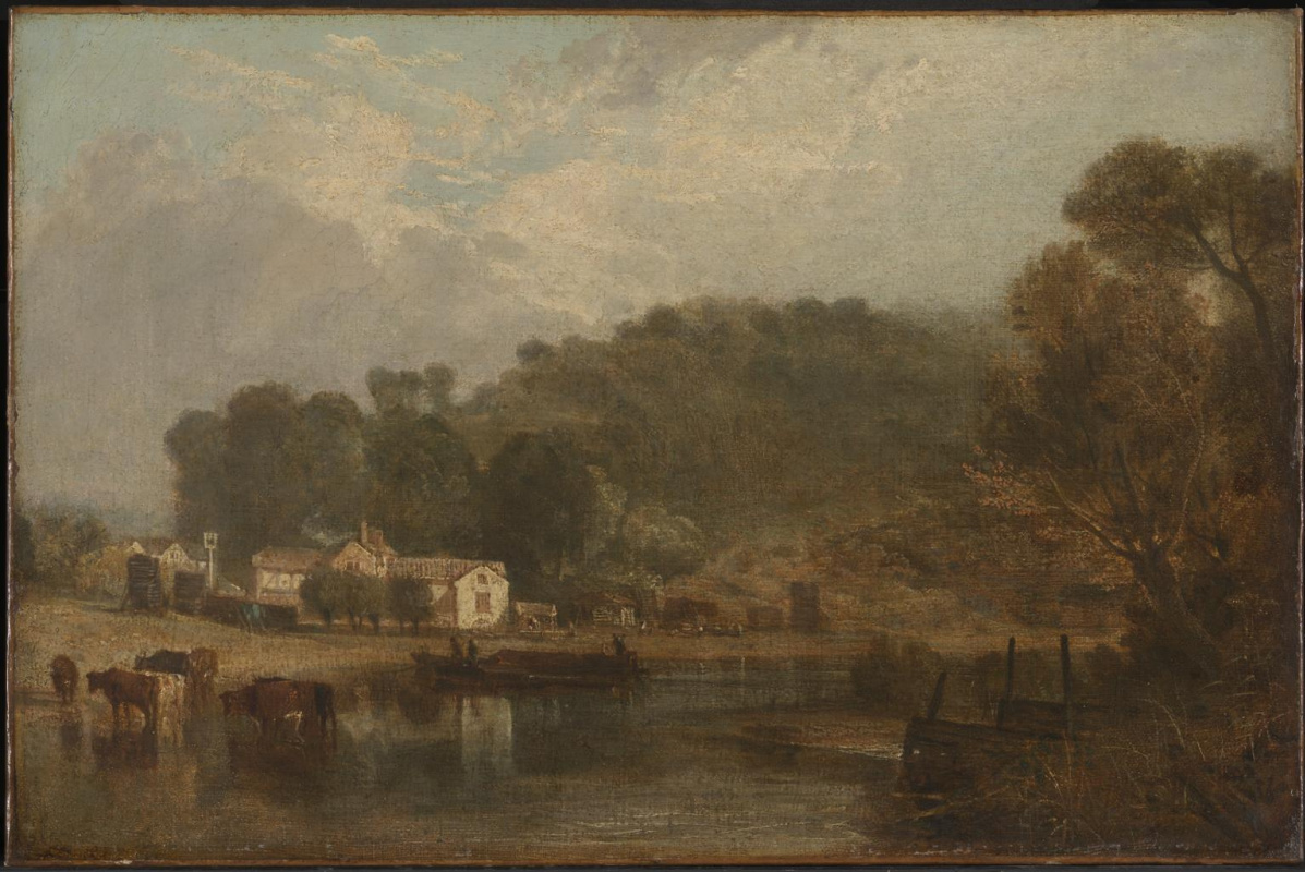 Joseph Mallord William Turner. Cliveden on the Thames