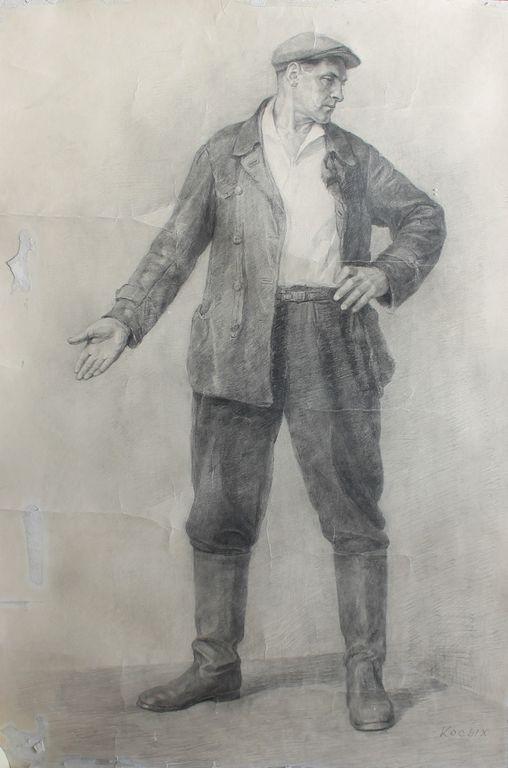 Maxim Sergeyevich Kosykh. Портрет мужчины