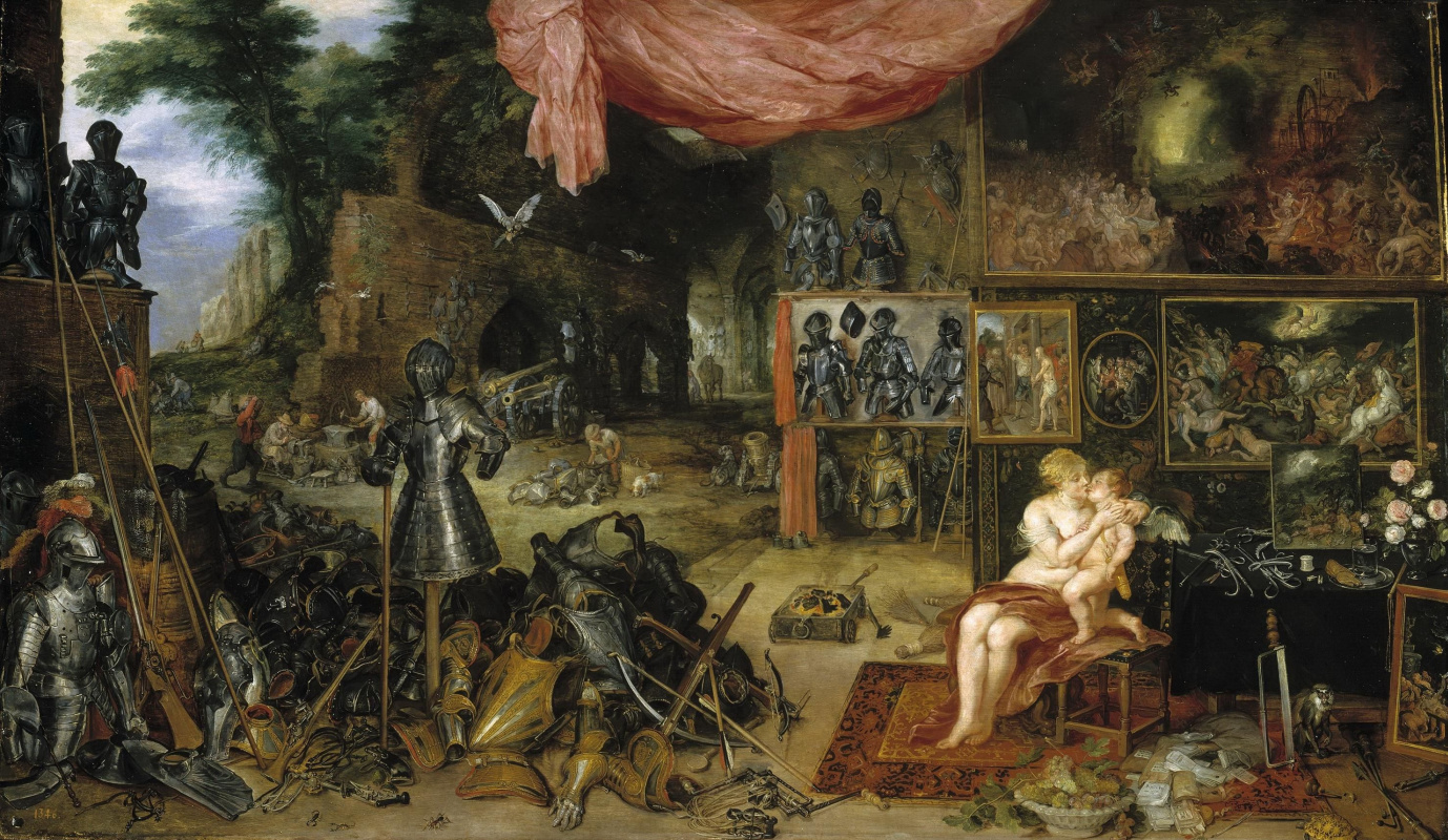 Peter Paul Rubens and Jan Brueghel the Elder. Allegory of touch